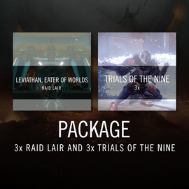 Raid Lair 3x and Trials 3x Package