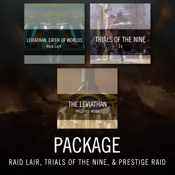 Raid Lair, Prestige Raid and Trials Package