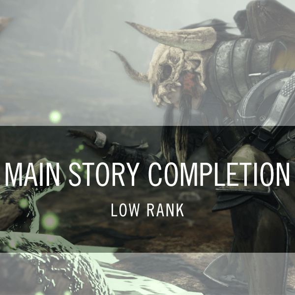 Low Rank Main Story Completion