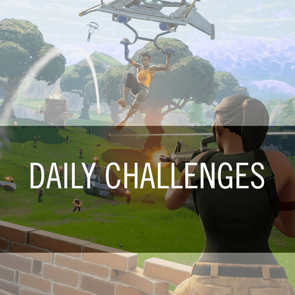 fortnite daily challenges - daily challenges fortnite today