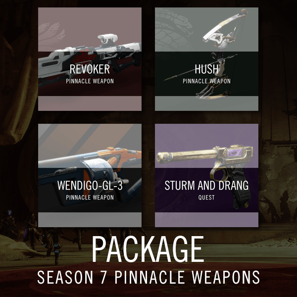 Season 7 Pinnacle Weapons