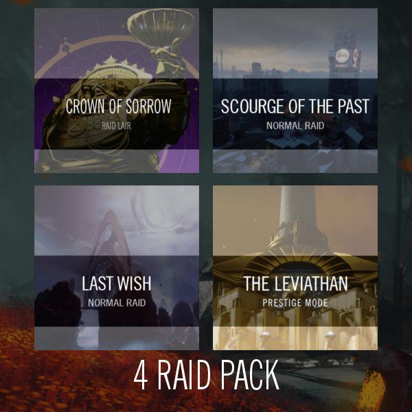 4 Raid Pack