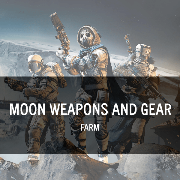 Moon Weapons and Armor