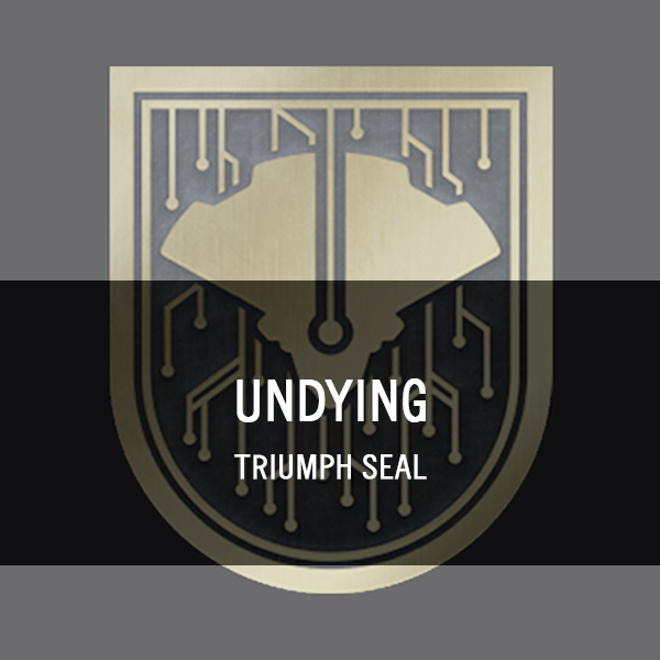 Undying Triumph Seal