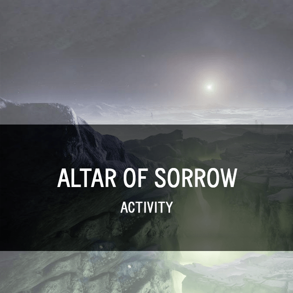 Altar of Sorrow