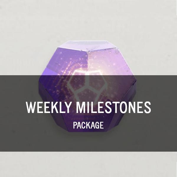 Weekly Milestones