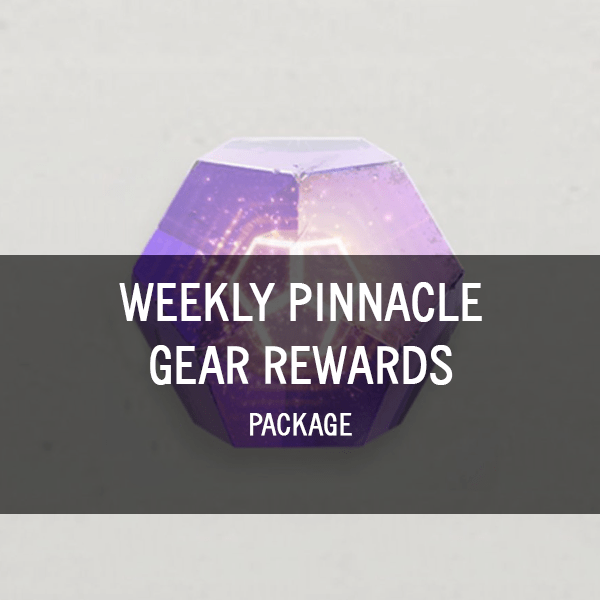 Weekly Pinnacle Gear