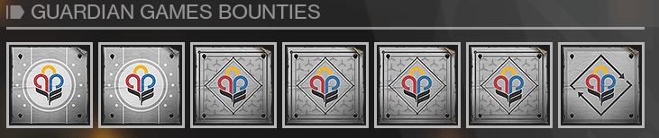 Guardian Games Bounties
