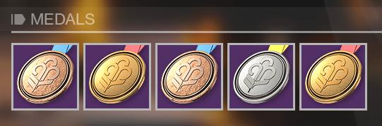 Guardian Games Medals