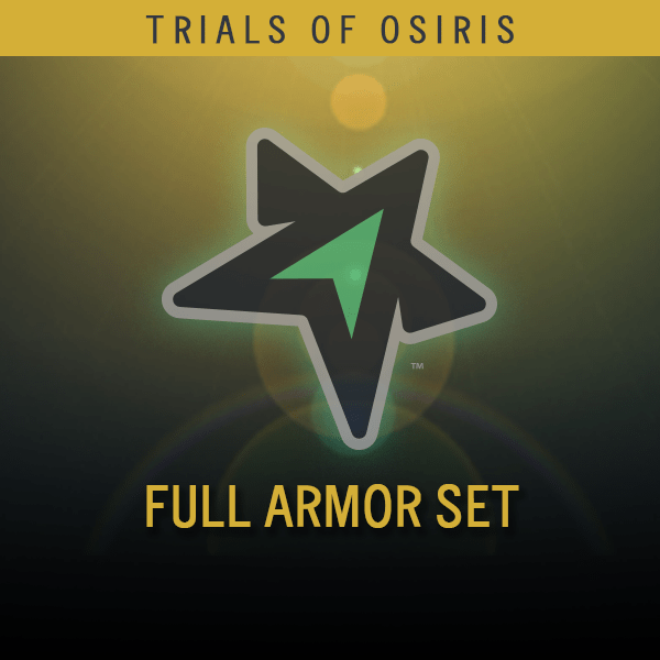 Trials of Osiris Full Armor Set