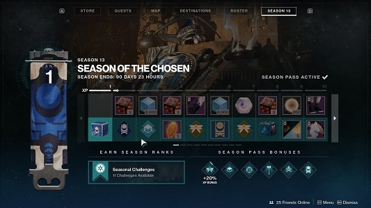 Season Pass Ranks