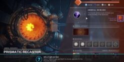 prasmatic recaster upgrade